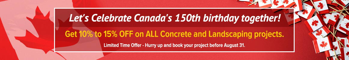 Lets Celebrate Canada's 150th Birthday together!