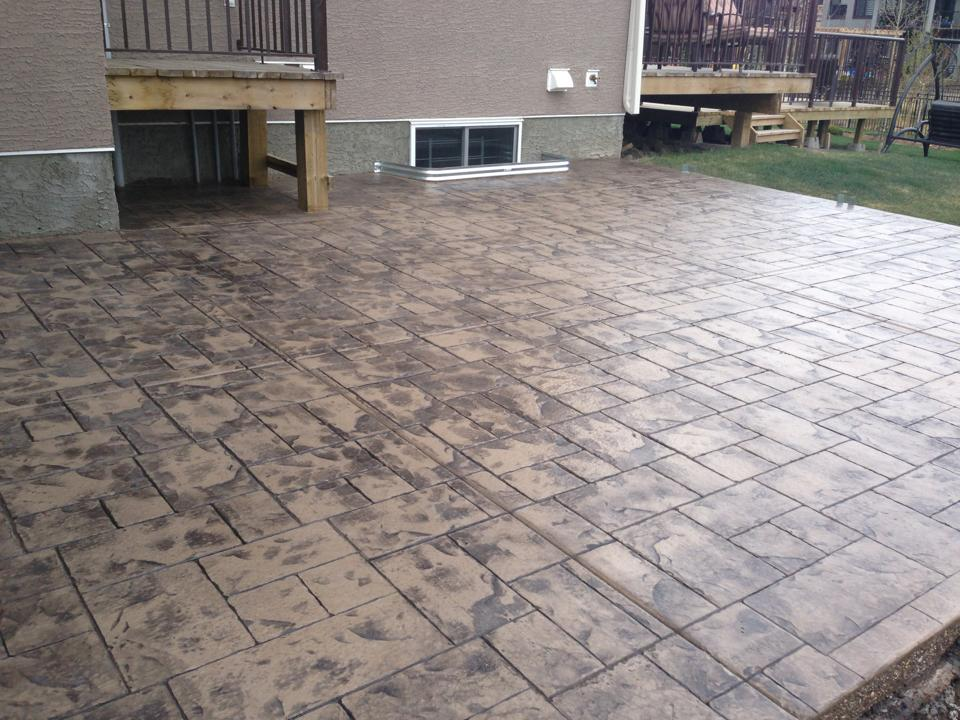 Srtamped concrete 1